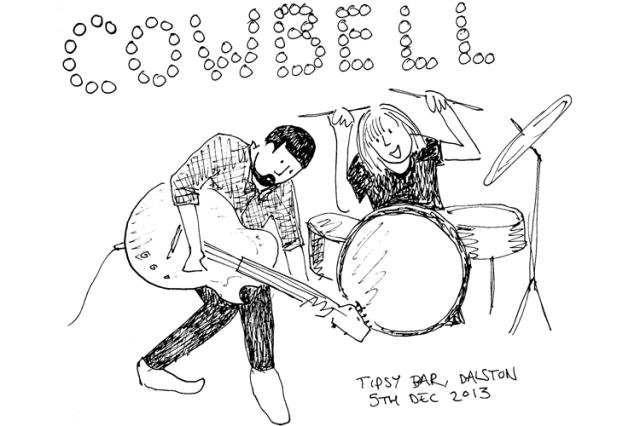 Cowbell at the Tipsy Bar