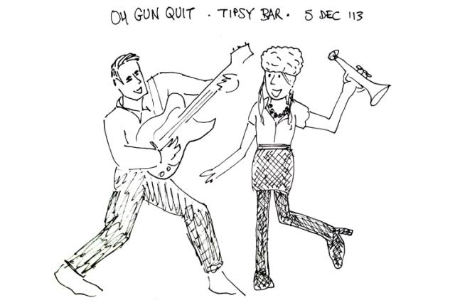 Oh Gun Quit