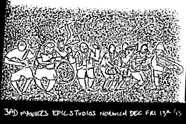 Bad Manners at Epic Studios Norwich. 13 Dec 2013