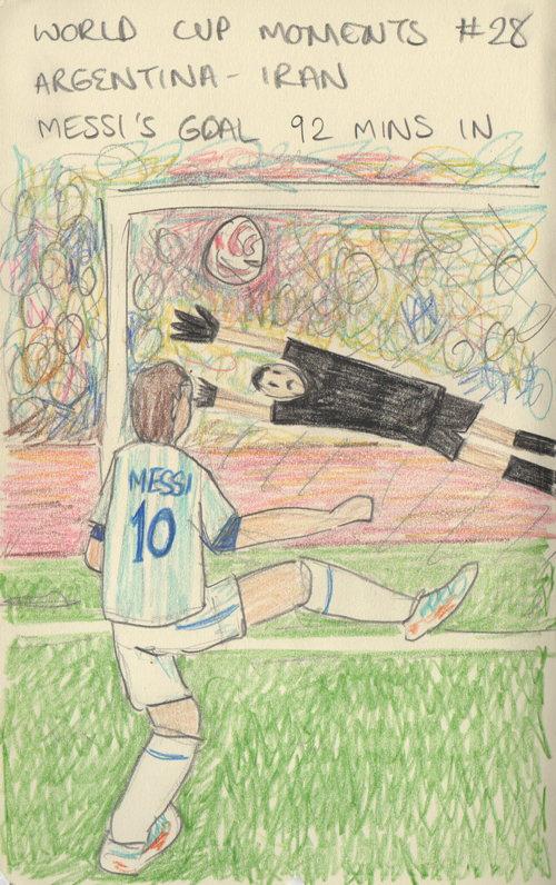 Messi scores in injury time