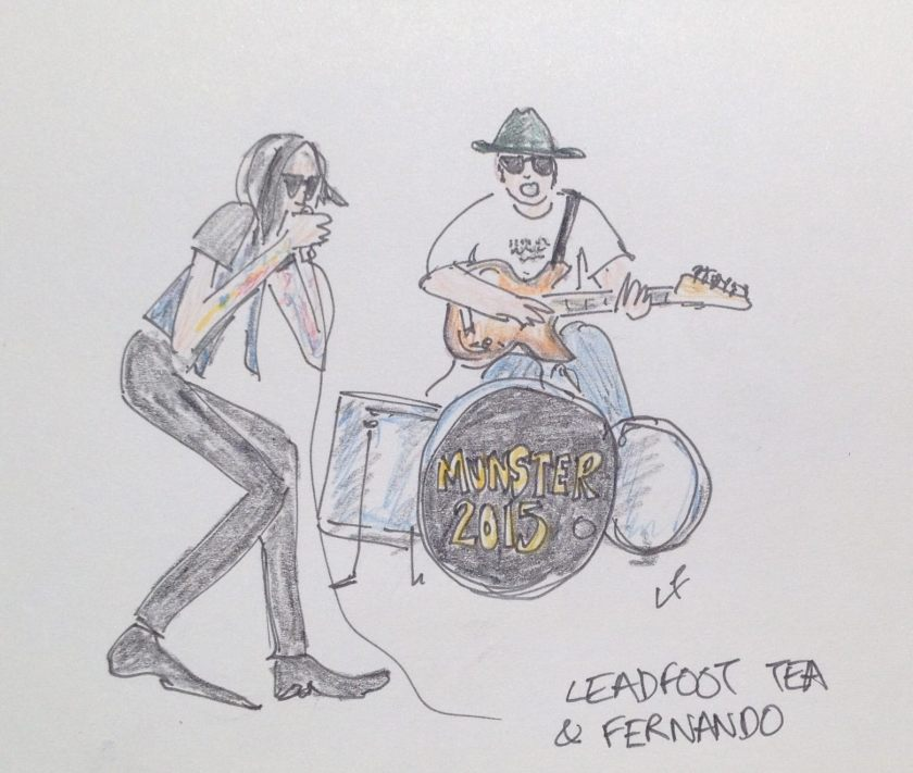 leadfoot tea and fernando