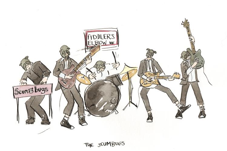 the scumbugs at weirdsville