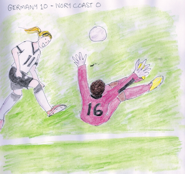 Germany vs Ivory Coast, Woman's World Cup 2015