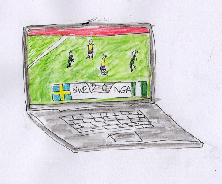 Sweden vs Nigeria Woman's World Cup 2015