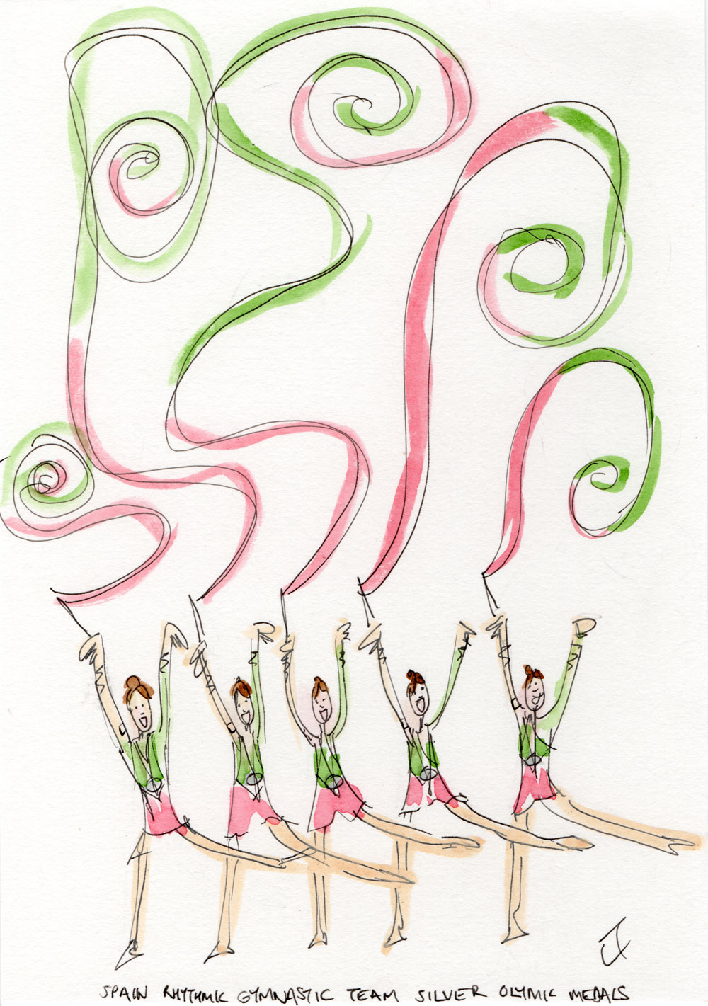 spain gymnastics team