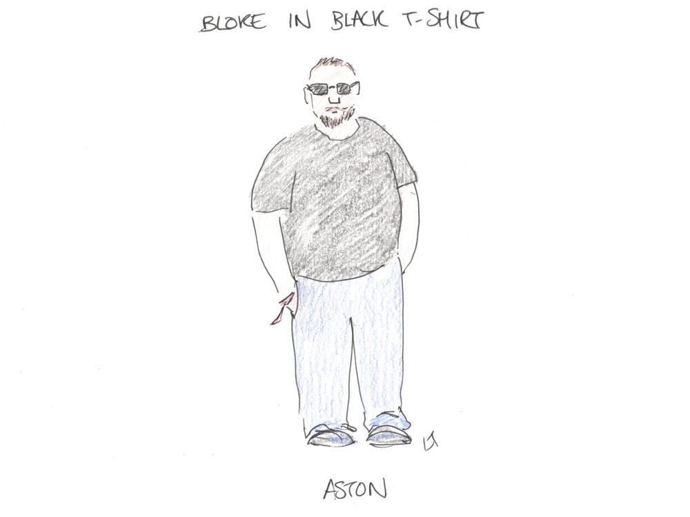 bloke in black shirt